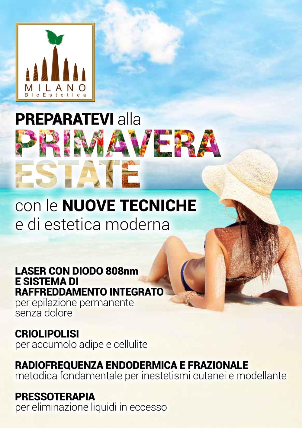 Promozioni Milano Bio Estetica Milano Bio Estetica